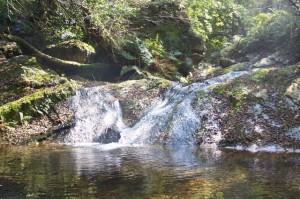 cascada en Oneta